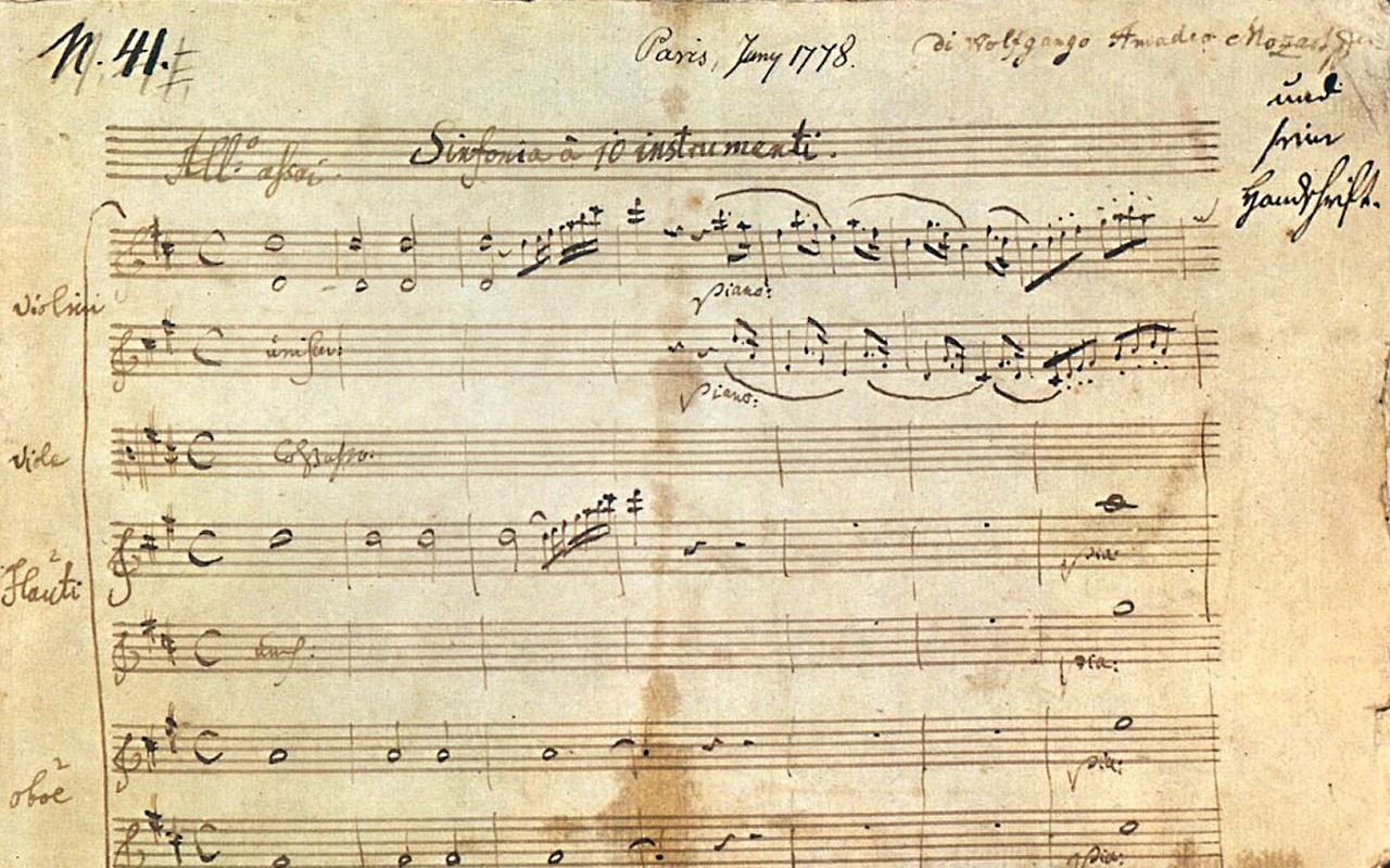 """Mozart's """"Jupiter"""" Symphony: An Explosion of Counterpoint – The"""